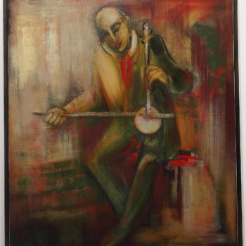 мелодия 2012 хм 350x350 - Different melody, 110х100, oil on canvas, 2012
