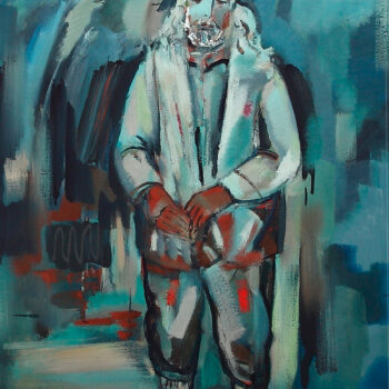 120х100 х 2 350x350 - Mnatsakan, 120x100, oil on canvas, 2011