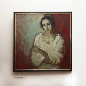 портрет. Ирина 2016 хм 350x350 - Незаконченный портрет. Ирина, 85х85, х.м., 2016