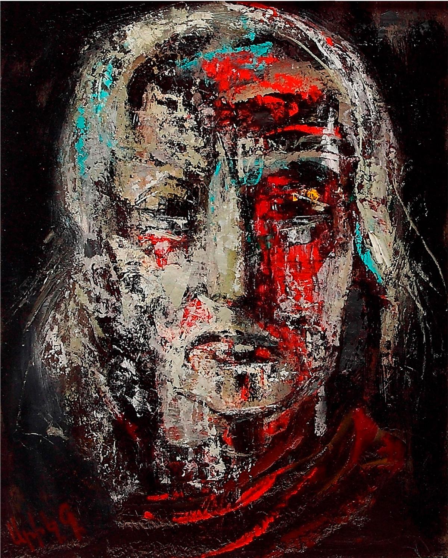 2014 хм 3 - Портрет, 50х40, орг./масло, 2014