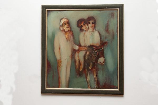 моего детства 1995 х.м. 100х90 600x400 - Жанровые сцены